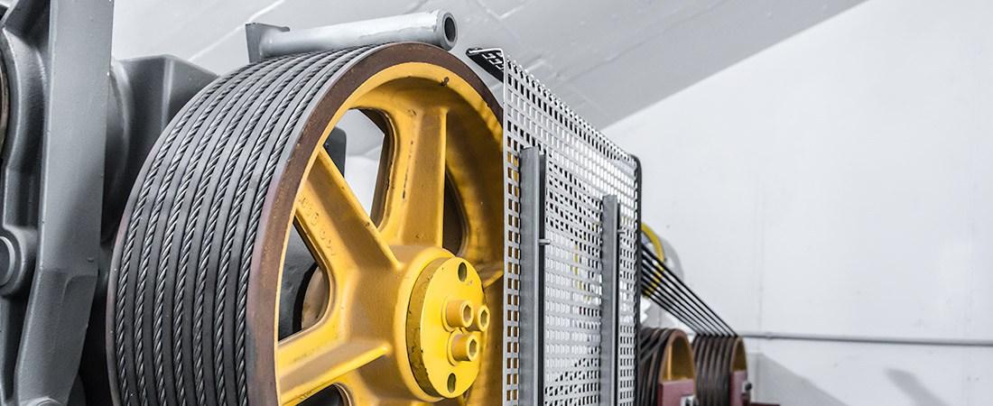 Antriebstechnik und Motoren für Aufzüge Header