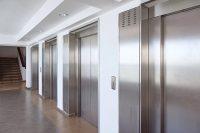 Edelstahl Aufzugtüren