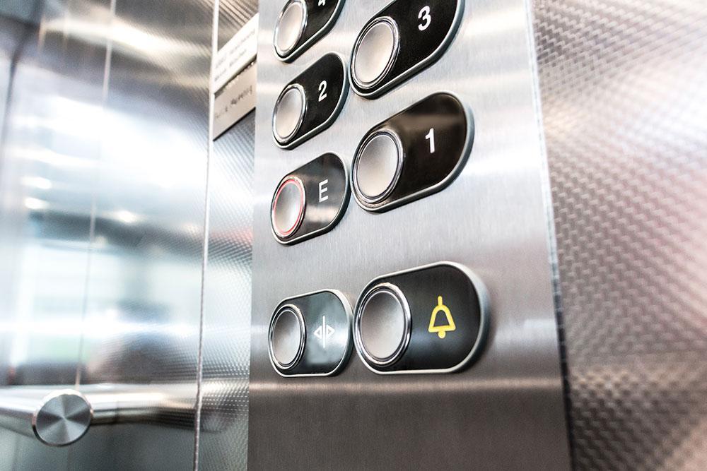 Aufzug Tableau Bedienelemente