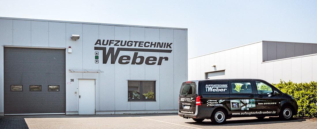 Aufzugtechnik Weber aus Mönchengladbach Header