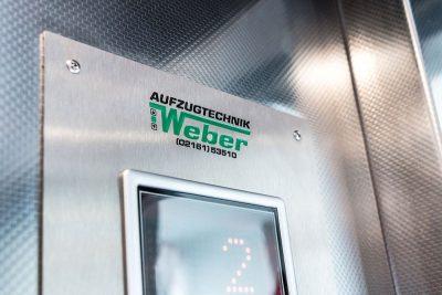 Aufzugtechnik Weber Tableau