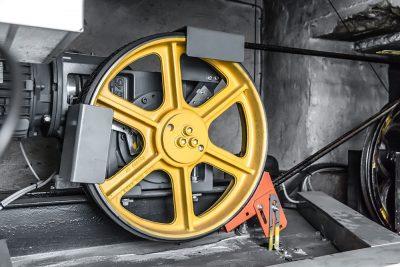 Moderner Aufzugantrieb